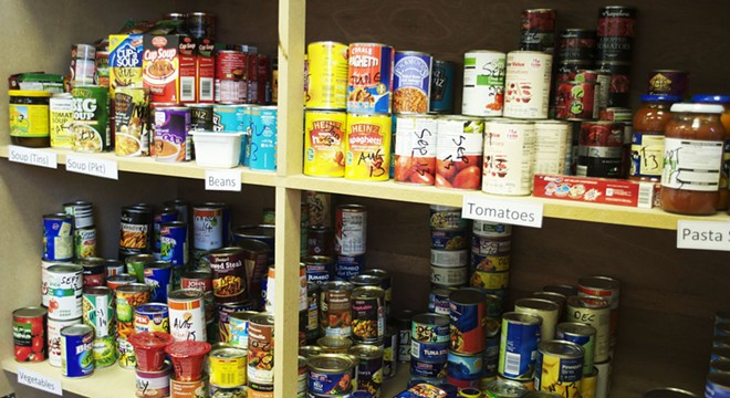 He's going to keep food bank shelves stocked. - STAFFS LIVE / FLICKR