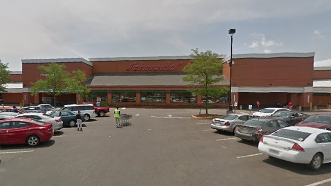 The University City Schnucks is currently open after a deep clean and sanitizing. - SCREEN GRAB VIA GOOGLE MAPS