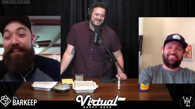 Virtual Happy Hour kicks off at 4 p.m. every Thursday. - WE ARE LIVE!