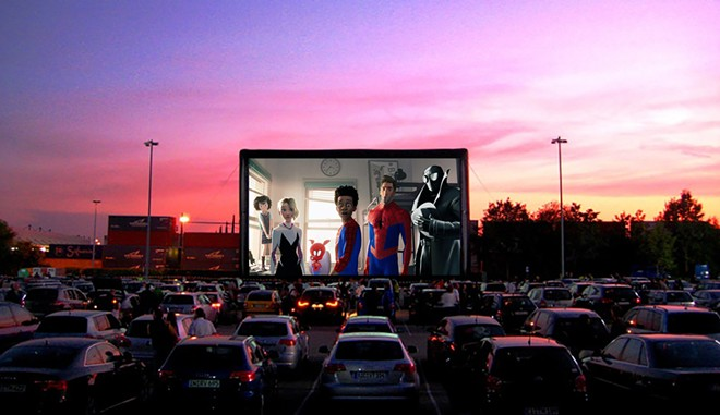 Big screen and big skies. - PHOTO VIA DRIVE-IN MOVIE CLUB