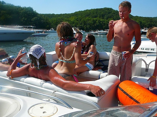 Party Cove won't be the same this summer. - JAMES CARR / FLICKR