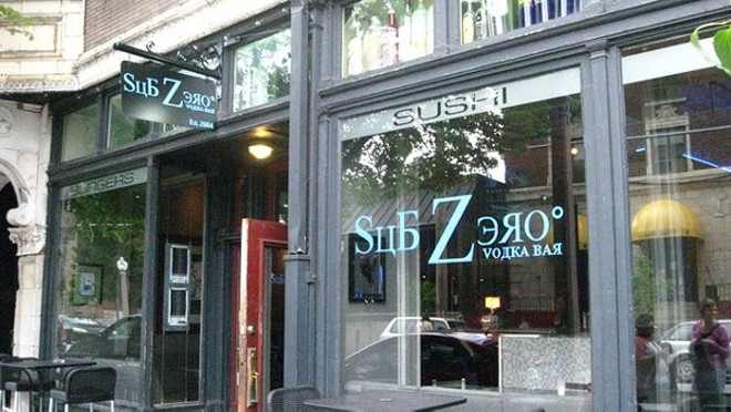 Sub Zero Vodka Bar has closed its doors for good. - RFT STAFF
