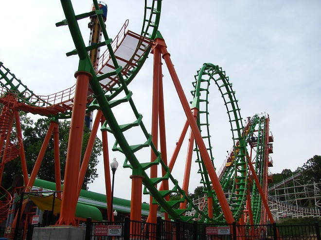 The theme park erxperience is going to look a lot different when Six Flags finally reopens. - JEREMY THOMPSON/FLICKR