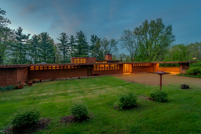 The Pappas House had only one owner until earlier this year. - COURTESY FRANK LLOYD WRIGHT INITIATIVE
