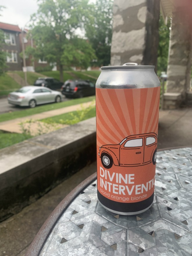 Divine Intervention is a collaboration between Jesus Christ Supercar and Alpha Brewing Company. - COURTESY JESUS CHRIST SUPERCAR
