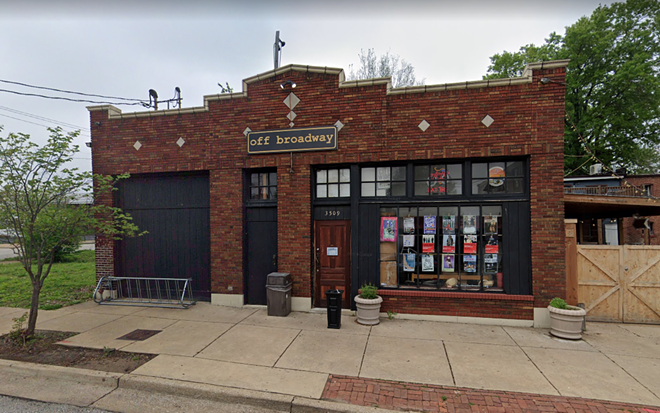 Help out a beloved St. Louis music institution, get some booze. Win-win! - VIA GOOGLE MAPS