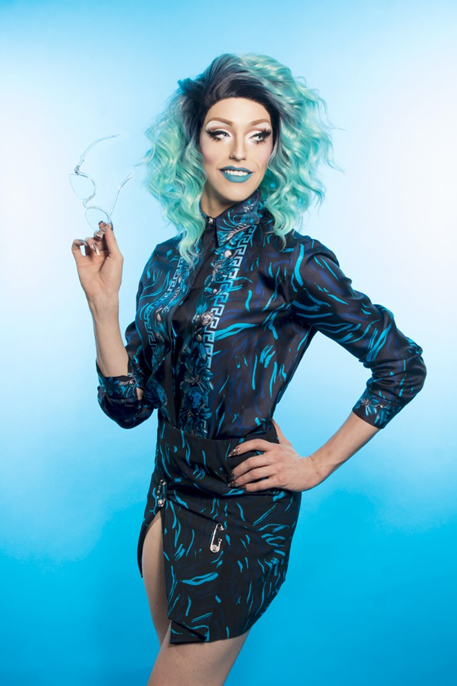 Jay Jackson, aka Laganja Estranja, is a world-renowned female illusionist, choreographer, music artist and LGBTQ+ icon. A U.S. Laganja launched to stardom after being selected to compete on the Emmy-nominated television series RuPaul's Drag Race Season 6, and stars in Drag Queen Mukbang Episode 4 (premieres July 11), in support of Kansas City Pride Fest.