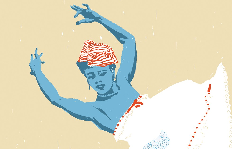 Katherine Dunham's ambition lives on at the East St. Louis centers. - ILLUSTRATION BY EVAN SULT