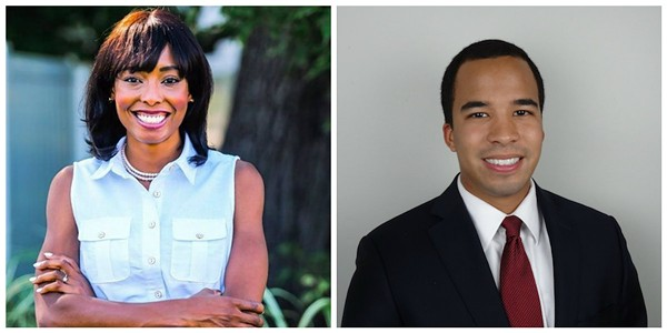 Cora Faith Walker, left, and Steve Roberts are both freshman Democrats serving in the Missouri House of Representatives.