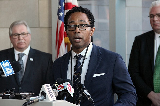 St. Louis County prosecutor Wesley Bell, photographed in 2019. - DANNY WICENTOWSKI