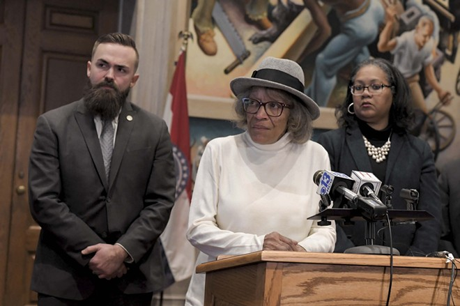 Retired St. Louis Circuit Judge Evelyn Baker says she made a mistake in treating Bobby Bostic like an adult. - TIM BOMMEL