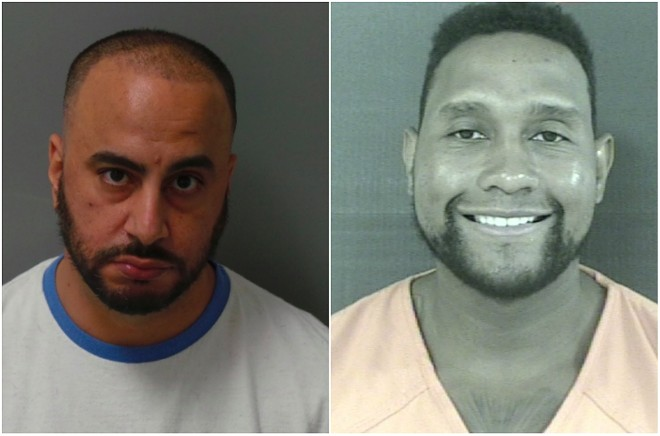 """Waiel """"Wally"""" Yaghnam, left, has been indicted along with James """"Tim"""" Norman. - ST. LOUIS CITY JUSTICE CENTER/MADISON COUNTY, MISS., DETENTION CENTER"""