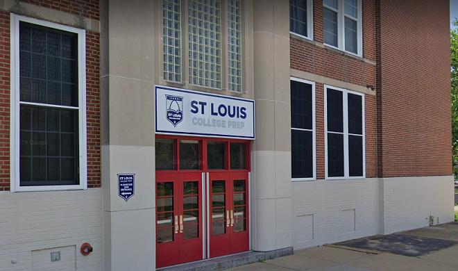 St. Louis College Prep's former headmaster pleaded to three federal felonies. - GOOGLE STREET VIEW