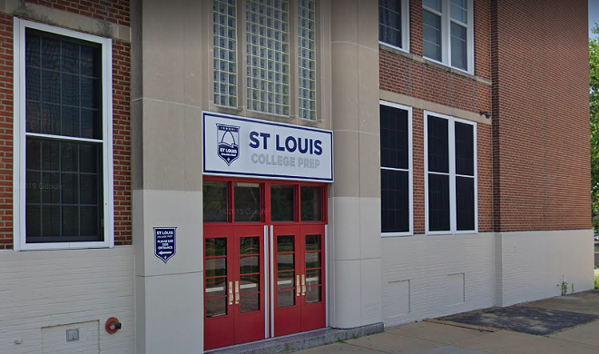 St. Louis College Prep's former headmaster pleaded to three federal felonies. - GOOGLE STREET VIEW