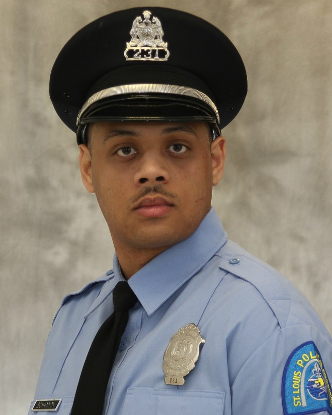 St. Louis Police Officer Tamarris Bohannon died after being shot on Saturday. - COURTESY ST. LOUIS POLICE