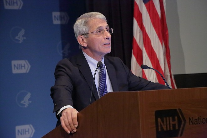 Anthony S. Fauci, M.D., Director, National Institute of Allergy and Infectious Diseases, pictured here in 2016 - NIAID / FLICKR
