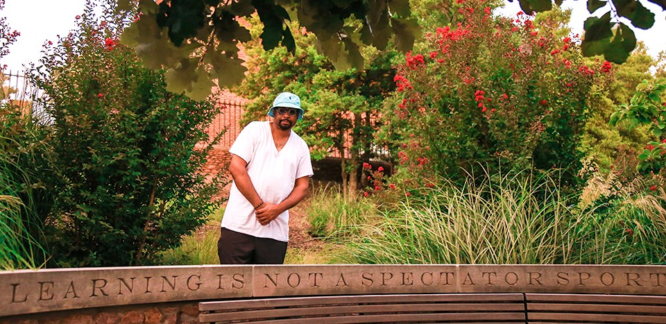 De'Joneiro Jones organized the project and contributed his own works. - NICHOLAS COULTER