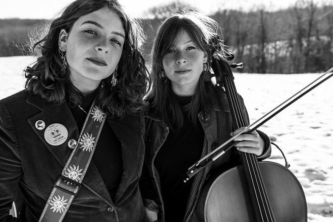 The Burney Sisters will perform on Friday as part of Old Rock House's Listening Room series. - COLIN LAVAUTE