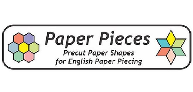 """Paper Pieces counter-accused Cotton Cuts of copying its logo, shown here, to make the """"Rosa"""" design. - LAWSUIT EXHIBIT"""