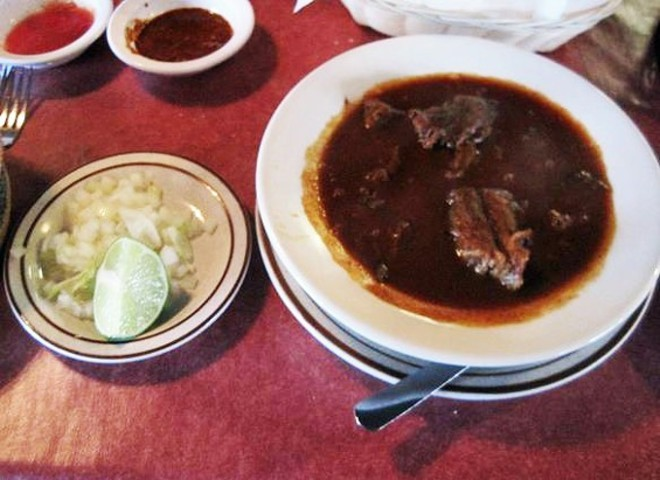 Get the birria while you can; Pueblo Nuevo will close on October 29. - IAN FROEB
