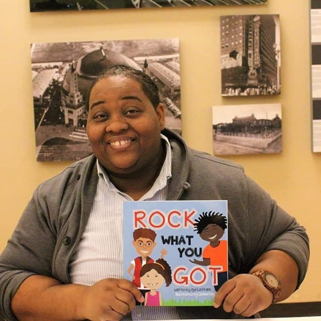 Jennings Councilwoman and children's book author Aja La'Starr Owens. - COURTESY OF AJA LA'STARR OWENS