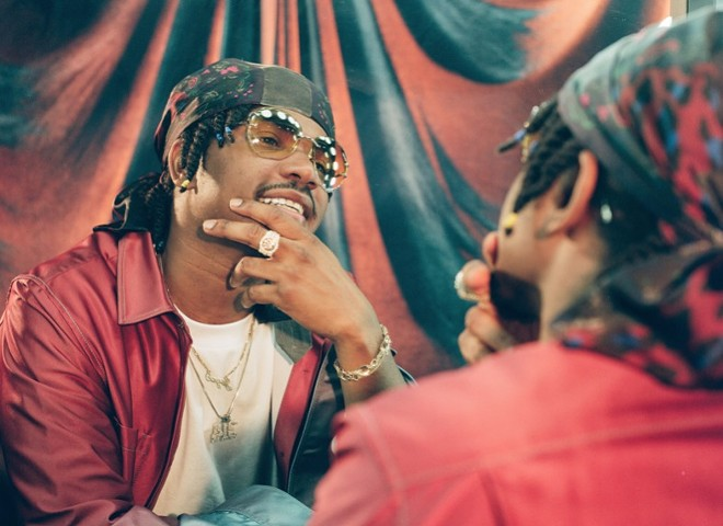 St. Louis rapper Smino will perform as part of this weekend's Planet Afropunk virtual festival. - ALEX HARPER