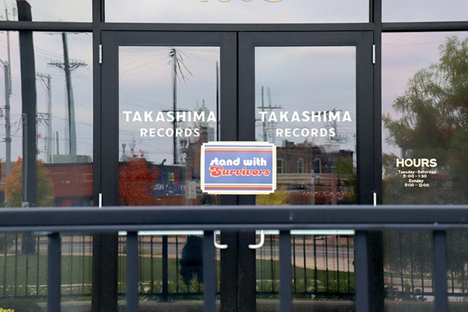 Takashima Records remains closed as the estranged business partners battle. - STEVEN DUONG