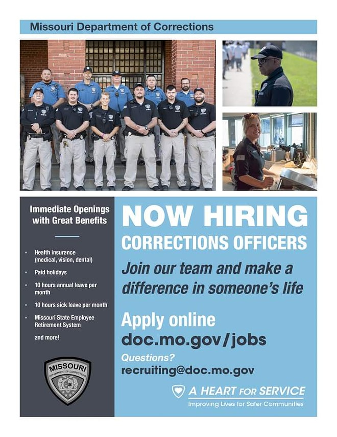 The recruitment flier, which is also missing the equal opportunity language. - PROVIDED
