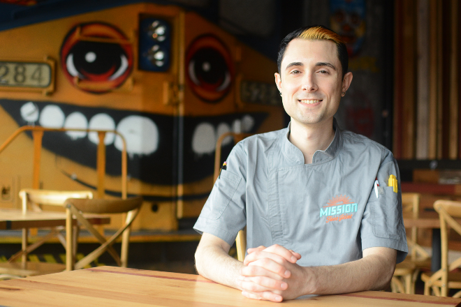 Joe McMahon started out as a Mission Taco Joint fan and is now managing the kitchen at its Kirkwood location. - ANDY PAULISSEN