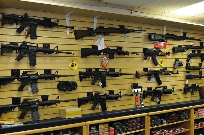 Gun sales has risen during the pandemic. - MICHAEL SAECHANG/FLICKR