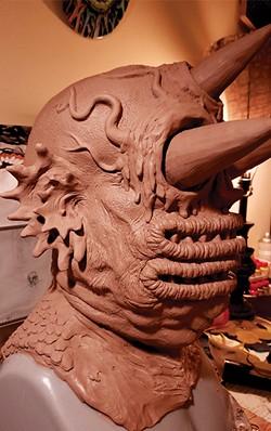 Next up: sculpture creeps. - JASON SPENCER