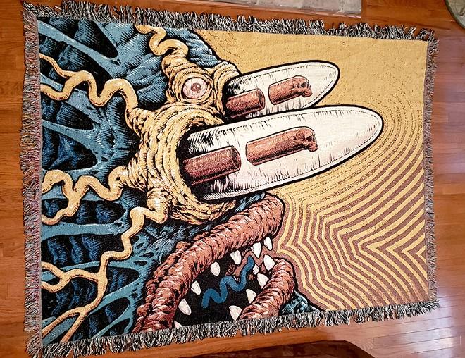 Spencer's art tends toward the bizarre. - JASON SPENCER
