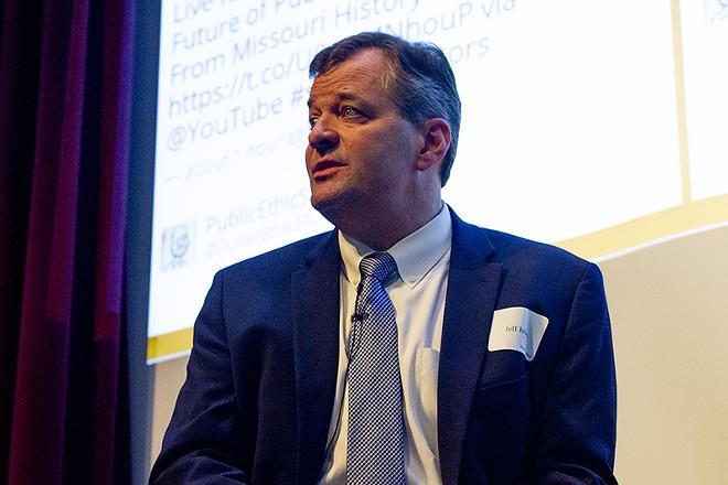 U.S. Attorney Jeff Jensen plans to leave office on December 30. - DANNY WICENTOWSKI