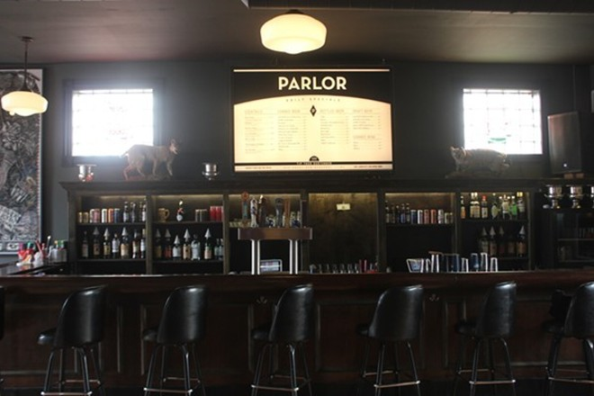 Parlor, the popular Grove arcade bar, was the epicenter of a sexual assault reckoning that rocked the Grove. - MELISSA BEULT