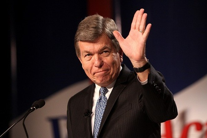 Roy Blunt struck a conciliatory tone during an inauguration speech. - PHOTO COURTESY OF FLICKR/GAGE SKIDMORE