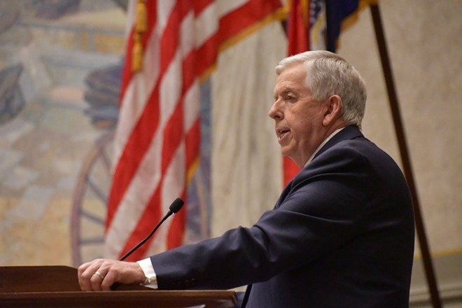 Missouri Gov. Mike Parson delivered his State of the State address on Jan. 27, 2021 - OFFICE OF MISSOURI GOVERNOR