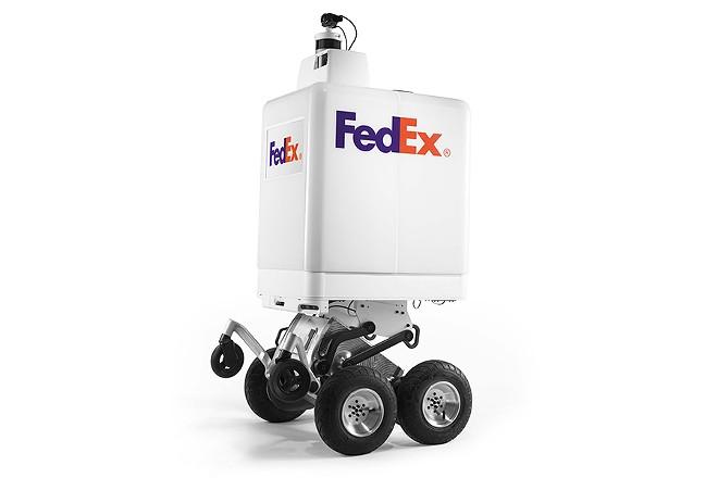 Roxo, the FedEx On Demand Bot. - FEDEX