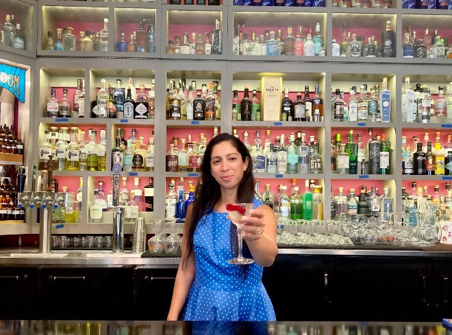 Natasha Bahrami is the toast of the international spirits world. - THE GIN ROOM