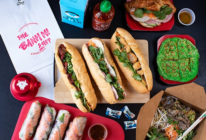 The Banh Mi Shop offers sandwiches, spring rolls, noodle bowls and more. - MABEL SUEN