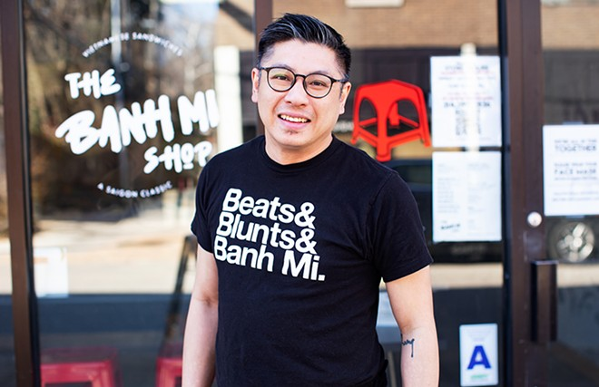 Chef-owner Jimmy Trinh's post-high school trip to Vietnam ignited his love of banh mi. - MABEL SUEN