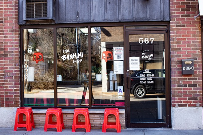 Located in the Delmar Loop. - MABEL SUEN