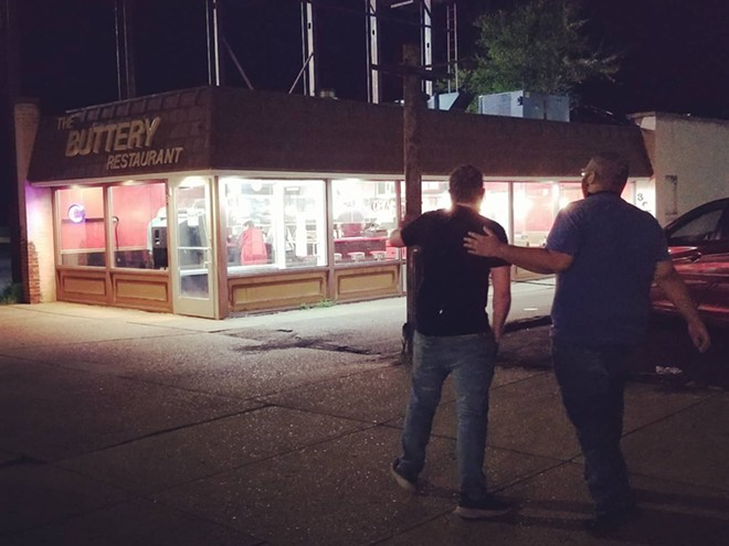 The Buttery diner, shown here this week, is back. - CHRIS ANDOE