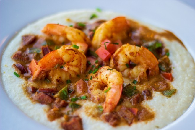 Low Country shrimp and grits are one of Kingside Diner's new specialties. - COURTESY OF KINGSIDE DINER