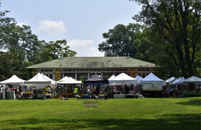 The 2021 Tower Grove Farmers' Market season kicks off tomorrow. - RFT FILE PHOTO