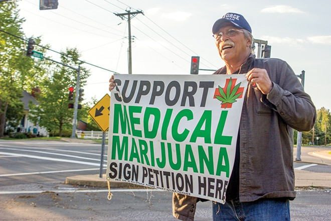 Jeff Mizanskey served decades in prison for marijuana until his sentence was commuted. - DANNY WICENTOWSKI