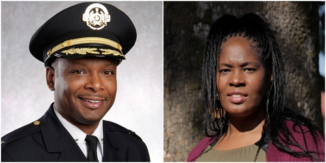 Former St. Louis police Chief Dan Isom and retired Detective Sgt. Heather Taylor will lead the public safety department. - SLMPD/STEVEN DUONG