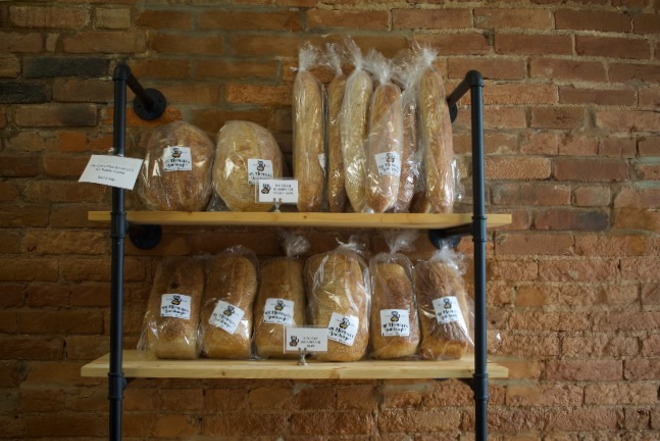 Mr. Meowski's serves three different types of sourdough bread: Rounds, sandwich loaves and baguettes. - CHERYL BAEHR