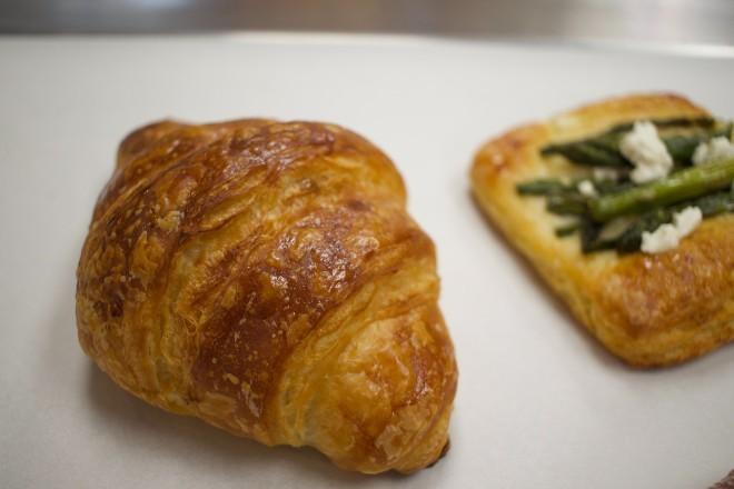A croissant. - CHERYL BAEHR