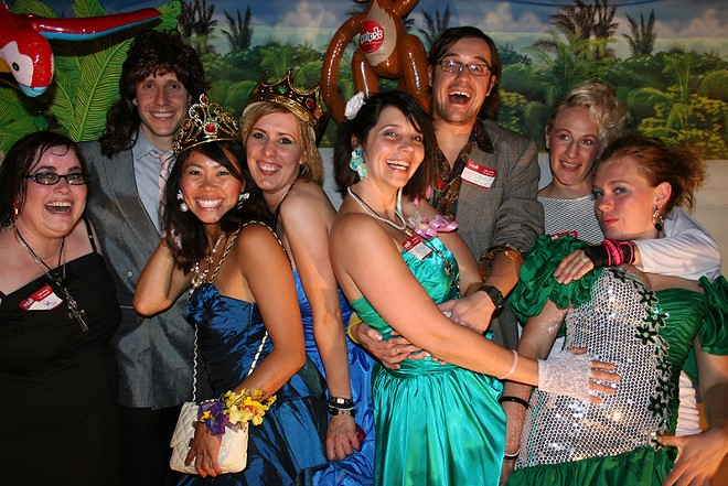 All you dreams can come true at an '80s prom for adults. - @YELP / FLICKR