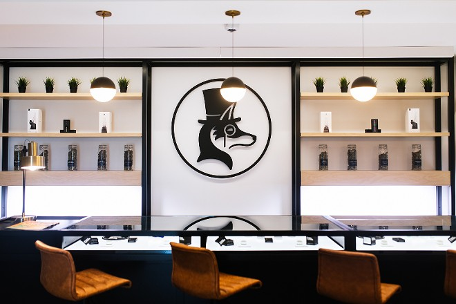 Proper's south county dispensary has a modern apothecary feel. - PROVIDED BY PROPER CANNABIS